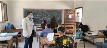 تعليم المنوفية: 99.32% نسبة الحضور باليوم الثالث لامتحانات الدبلومات الفنية | صور
