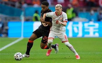 الشوط الأول.. هولندا تتقدم على مقدونيا الشمالية في يورو 2020