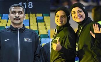 اختيار ثلاثة حكام سلة مصريين للظهور في البطولات الدولية