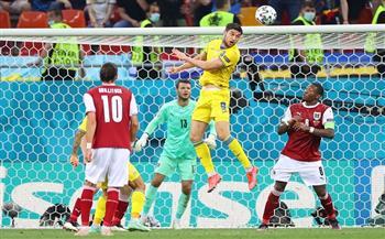 النمسا تعبر أوكرانيا بهدف بومجارتنر وتتأهل لدور الـ16 في «يورو 2020»