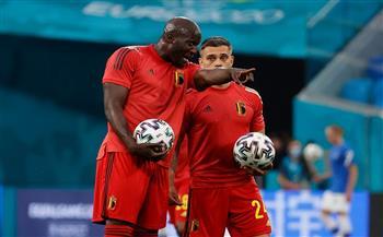 انطلاق مباراة بلجيكا ضد فنلندا في «يورو 2020»