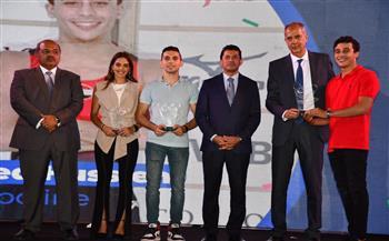 وزير الرياضة ورئيس الأولمبية المصرية يشهدا تكريم عدد من اللاعبين المتأهلين للأوليمبياد| صور