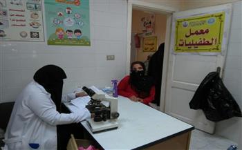 قافلة طبية بقرية أبودراز في كفر الشيخ تعالج 2123 مواطنا على مدار يومين | صور