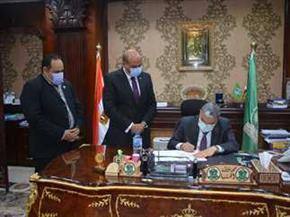 محافظ المنيا يعتمد نتيجة الشهادة الإعدادية بنسبة نجاح 77.5%