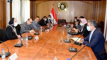 وزيرة التجارة تبحث مع وزير الآثار الاستعدادات الخاصة بالمشاركة المصرية بمعرض إكسبو دبي 2020