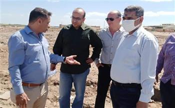 """مسئولو """"الإسكان"""" يقومون بزيارة ميدانية إلى مدينة غرب بورسعيد صور"""