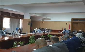 """اللجنة الوطنية لمشروع الممر الملاحي """"فيكتوريا - المتوسط"""" تناقش مسار المرحلة الثانية لدراسات الجدوى  صور"""