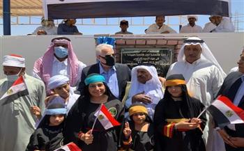 محافظ جنوب سيناء يفتتح مشروعات تنموية بمدينة نويبع بتكلفة 50 مليون جنيه   صور
