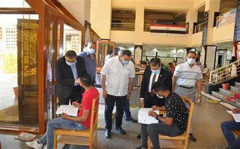 رئيس جامعة كفر الشيخ يتابع سير امتحانات الفصل الدراسي الثاني في كليتي الزراعة والتربية الرياضية  صور