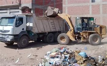 شن حملات نظافة بقرى مركز شبين الكوم بالمنوفية   صور