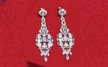قرط زفاف الملكة فريدة.. قطعة شهر يونيو بمتحف المجوهرات الملكية