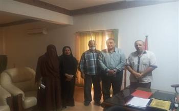رئيس مدينة القصير يلتقي مدير فرع هيئة التأمين الصحي بالبحر الأحمر