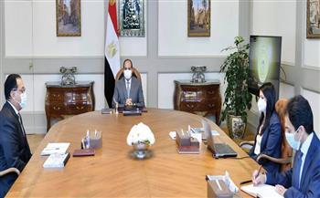 الرئيس السيسي يتابع جهود وزارة التعاون الدولي في التعاون مع الشركاء الدوليين والمؤسسات التنموية الدولية