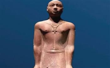 """تمثال الأمير """"حور أم أخت"""" قطعة شهر يونيو بمتحف النوبة بأسوان   صور"""