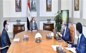 الرئيس السيسي يتابع مخطط إنشاء ورفع كفاءة الصوامع والمخازن الإستراتيجية وجهود الدولة لتطوير منظومة المخابز