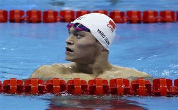 تقليص عقوبة إيقاف السباح الصيني سون إلى 4 أعوام