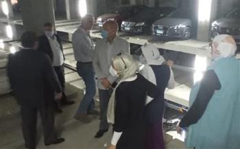 نائب محافظ القاهرة يتفقد جراج روكسي