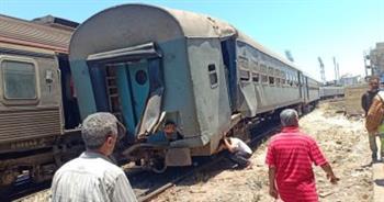 رئيس «السكة الحديد»: حادث قطار إسكندرية خطأ سائق الجرار