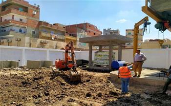 رئيسة مدينة دسوق تتابع تنفيذ مشروع الصرف  في «محلة أبو علي» و«ابطو»   صور