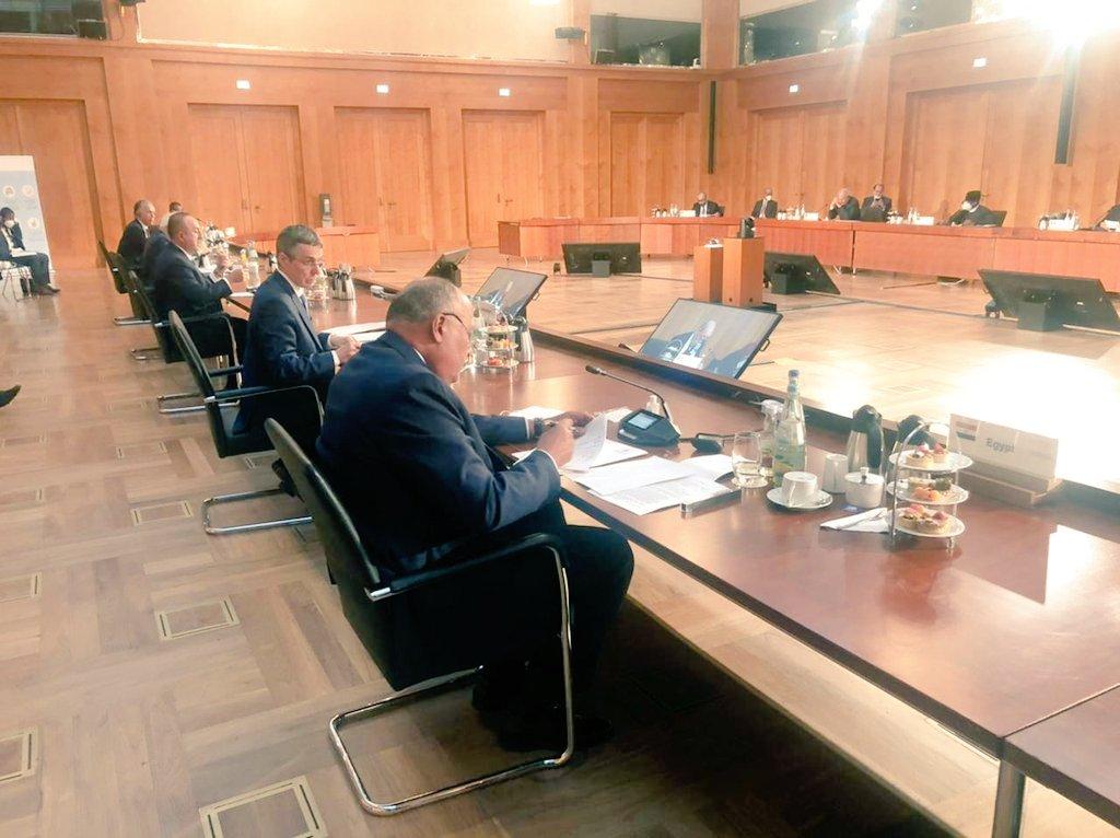 مؤتمر  برلين   دعوات لانسحاب القوات الأجنبية والمرتزقة وتجاوز العراقيل أمام إجراء الانتخابات الليبية