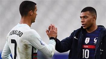 رونالدو ومبابي وجها لوجه في صدام البرتغال مع فرنسا في يورو 2020