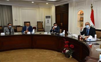 وزير الإسكان يستعرض مقترح المخطط التفصيلي العام للمدخل الجنوبى لمدينة الجيزة|صور