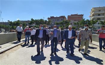 نائب وزير الإسكان للبنية الأساسية يتفقد خدمات مياه الشرب والصرف الصحي بمحافظة الإسكندرية |صور