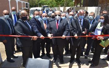 رئيس جامعة القاهرة يطلق أكبر مشروع لتطوير محطة التجارب الزراعية |صور