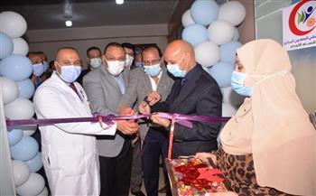 افتتاح قسم الأورام بمستشفي السعديين المركزي بتكلفة 2 مليون و200 ألف جنيه بالشرقية | صور