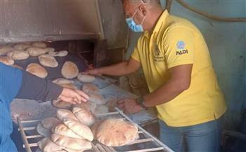 استمرار الحملات التموينية على المخابز بمدينة القصير بالبحر الأحمر   صور