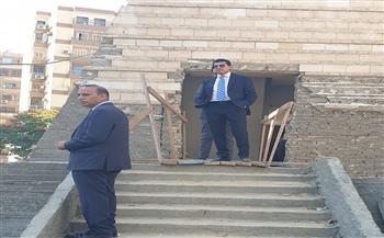 وزير الرياضة يتفقد فرع نادي النادي بشيراتون