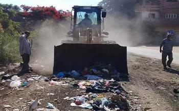 شن حملات نظافة متفرقة بقرى مركز شبين الكوم بالمنوفية   صور