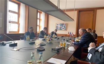 وزير الخارجية ونظيره الألماني يبحثان سُبل تطوير العلاقات الثنائية بكافة مجالاتها