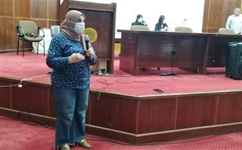 «القومي للمرأة» ينظم ندوة للتوعية بأهمية التطعيم ضد كورونا بالغردقة  صور