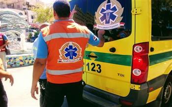وزيرة الصحة توجه بتوفير الرعاية لمصابي حادث ميكروباص العاملين بـ«صحة البحر الأحمر»  صور