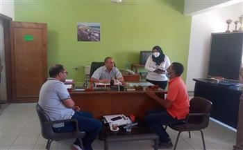 لبحث شكواهم.. رئيس مدينة القصير يواصل لقاءاته مع المواطنين  صور