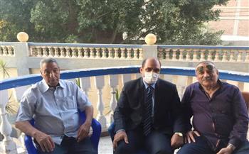 رئيس مدينة بيلا يشارك في الذكرى العاشرة للقارئ الشيخ أبو العينين شعيشع  صور