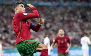 «رونالدو» يسجل الهدف الأول للبرتغال في شباك فرنسا