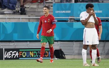 «رونالدو» يتعادل للبرتغال أمام فرنسا بهدف من ركلة جزاء بـ «يورو 2020»