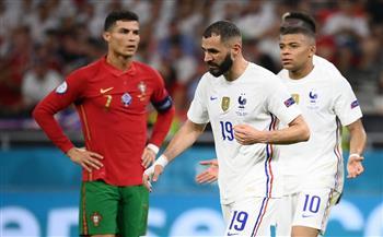 منتخب البرتغال يتعادل مع فرنسا.. ويتأهلان معًا لدور الـ 16 من «يورو 2020»