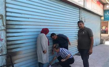 إغلاق 33 مقهى و محلا تجاريا لمخالفتها للإجراءات الاحترازية في حملة أمنية بسوهاج