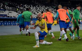 كوبا أمريكا 2021.. البرازيل يقلب تأخره ويفوز على كولومبيا بهدفين مقابل هدف