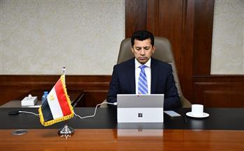 وزير الرياضة يختتم القمة الشبابية الثانية لمراكز شباب مصر للمحافظات الحدودية