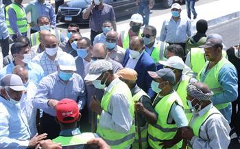 وزير النقل: تنفيذ آخر باكية معدنية بكوبري النيل بديروط.. والانتهاء من 95% من المرحلة الأولى