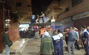 ضبط مقاه مخالفة وشيش في حملة بمدينة الأقصر  صور