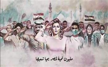 """أصالة تهدي """"بنحبك"""" لأهل مصر وتحقق أكثر من 20 ألف مشاهدة في دقائق"""