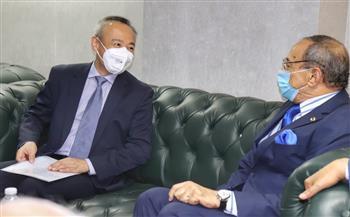 رئيس «الحركة الوطنية» يستقبل مستشار سفارة الصين.. ويؤكد: مصر استعادت مكانتها دولياً وإقليميًا   صور