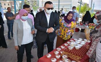 معرض المشغولات اليدوية والمشروعات الصغيرة بمكتبة مصر العامة  صور