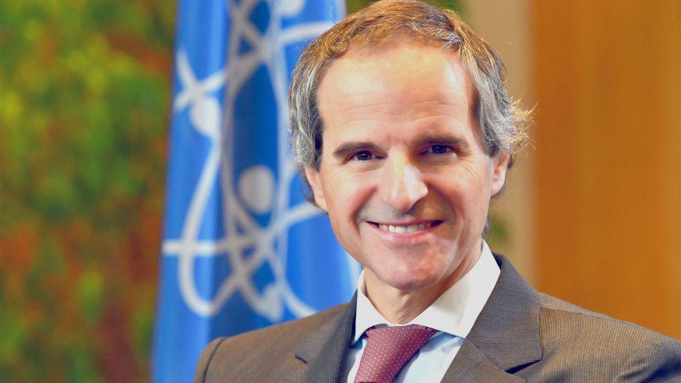 جروسي في طهران لإجراء محادثات قبل اجتماع لمجلس محافظي وكالة الطاقة الذرية