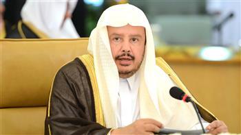 وصول رئيس مجلس الشيوخ السعودى إلى القاهرة لتكريمه بالبرلمان العربي